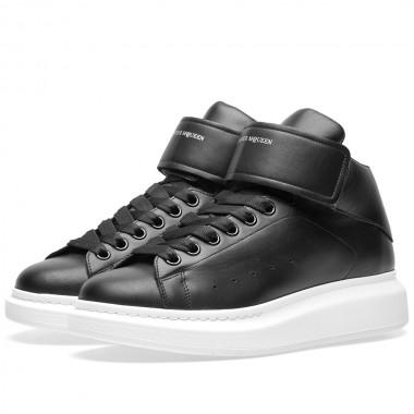 Alexander McQueen Wedge Sole Strap High Sneaker