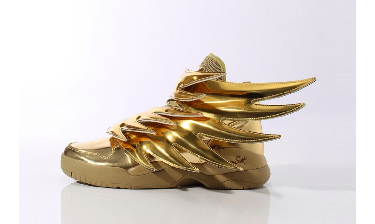 "Adidas Originals x Jeremy Scott Wings 3.0 ""Gold"""